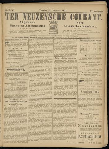 Ter Neuzensche Courant. Algemeen Nieuws- en Advertentieblad voor Zeeuwsch-Vlaanderen / Neuzensche Courant ... (idem) / (Algemeen) nieuws en advertentieblad voor Zeeuwsch-Vlaanderen 1897-12-18