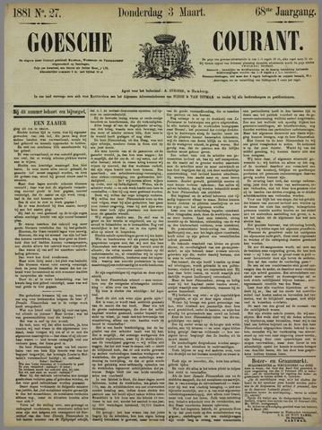 Goessche Courant 1881-03-03