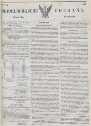 Middelburgsche Courant 1867-10-31