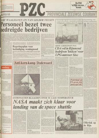 Provinciale Zeeuwse Courant 1981-04-14