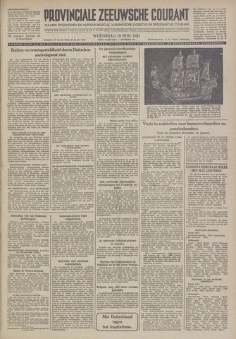 Provinciale Zeeuwse Courant 1941-11-19