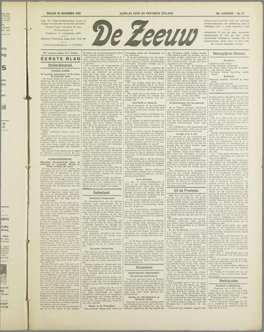 De Zeeuw. Christelijk-historisch nieuwsblad voor Zeeland 1934-11-16
