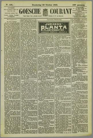 Goessche Courant 1919-10-30