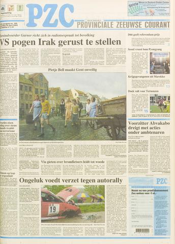 Provinciale Zeeuwse Courant 2003-04-28