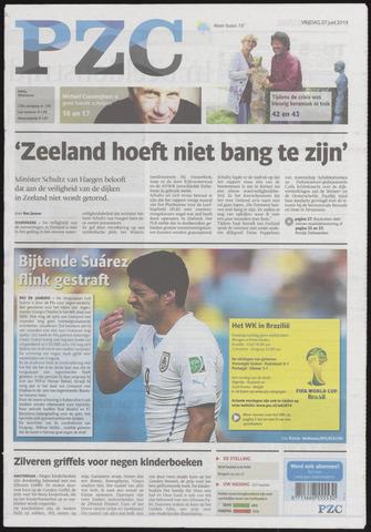 Provinciale Zeeuwse Courant 2014-06-27