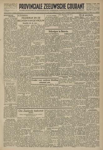 Provinciale Zeeuwse Courant 1946-04-02