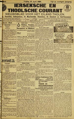 Ierseksche en Thoolsche Courant 1928-04-13
