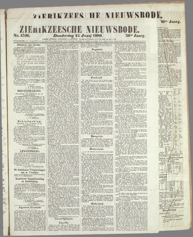 Zierikzeesche Nieuwsbode 1880-06-24