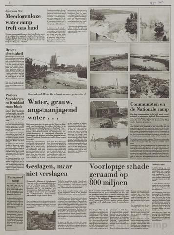 Watersnood documentatie 1953 - kranten 2003-01-17