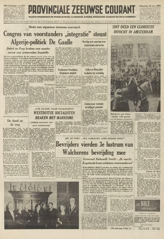 Provinciale Zeeuwse Courant 1959-11-16
