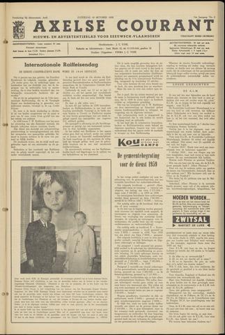 Axelsche Courant 1959-10-10