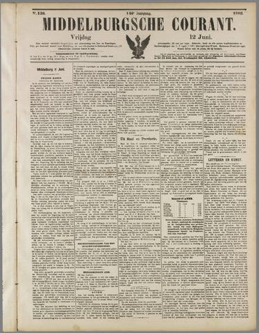 Middelburgsche Courant 1903-06-12
