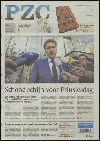 Provinciale Zeeuwse Courant 2014-08-28