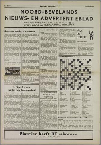 Noord-Bevelands Nieuws- en advertentieblad 1968-03-02