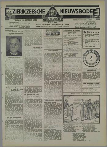 Zierikzeesche Nieuwsbode 1936-10-23