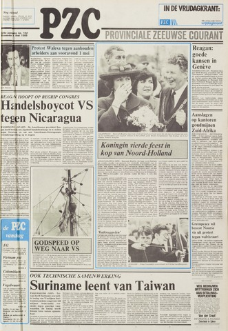 Provinciale Zeeuwse Courant 1985-05-01