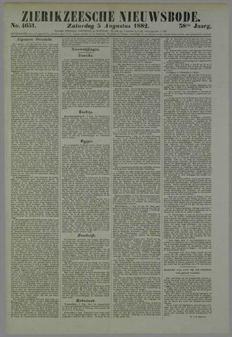 Zierikzeesche Nieuwsbode 1882-08-05