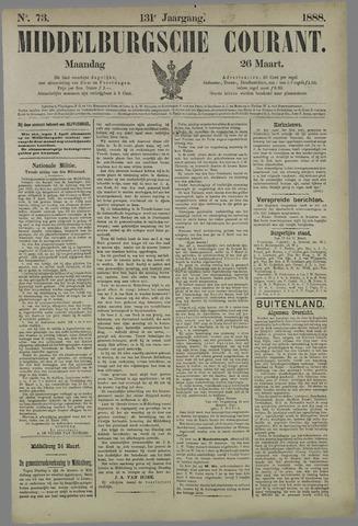 Middelburgsche Courant 1888-03-26