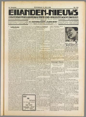 Eilanden-nieuws. Christelijk streekblad op gereformeerde grondslag 1938-07-13