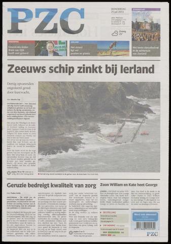 Provinciale Zeeuwse Courant 2013-07-25