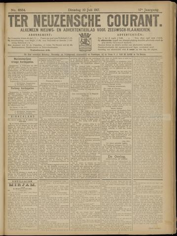 Ter Neuzensche Courant. Algemeen Nieuws- en Advertentieblad voor Zeeuwsch-Vlaanderen / Neuzensche Courant ... (idem) / (Algemeen) nieuws en advertentieblad voor Zeeuwsch-Vlaanderen 1917-07-10