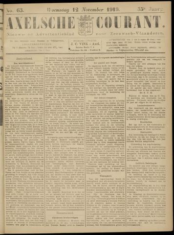 Axelsche Courant 1919-11-12