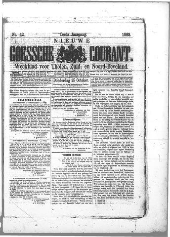 Nieuwe Goessche Courant 1868-10-15