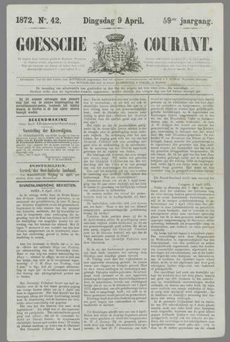 Goessche Courant 1872-04-09