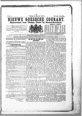 Nieuwe Goessche Courant 1872-01-12