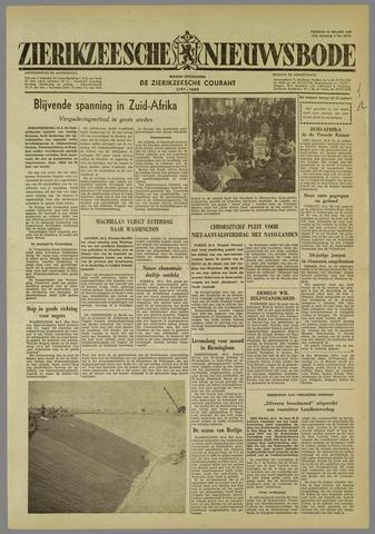 Zierikzeesche Nieuwsbode 1960-03-25