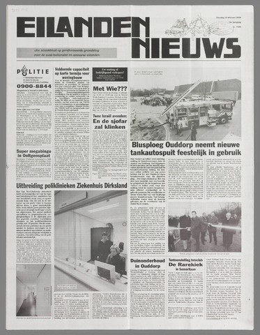 Eilanden-nieuws. Christelijk streekblad op gereformeerde grondslag 2004-02-24