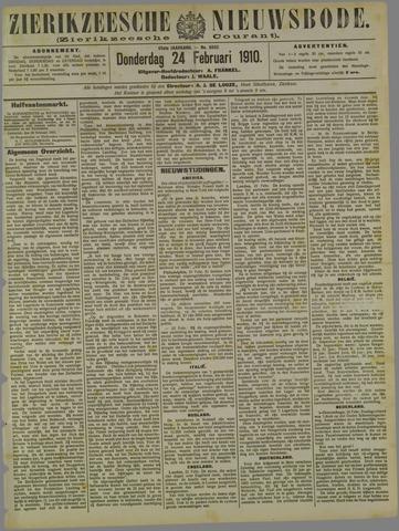 Zierikzeesche Nieuwsbode 1910-02-24