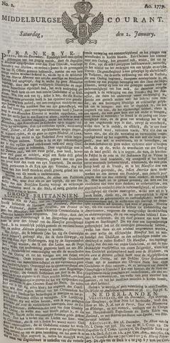 Middelburgsche Courant 1779
