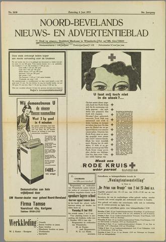 Noord-Bevelands Nieuws- en advertentieblad 1953-06-06