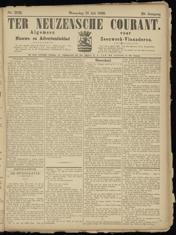 Ter Neuzensche Courant. Algemeen Nieuws- en Advertentieblad voor Zeeuwsch-Vlaanderen / Neuzensche Courant ... (idem) / (Algemeen) nieuws en advertentieblad voor Zeeuwsch-Vlaanderen 1890-07-16