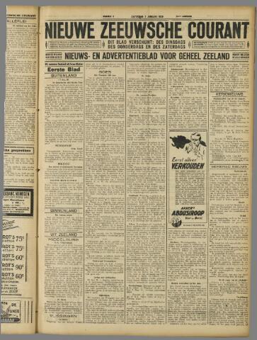 Nieuwe Zeeuwsche Courant 1928-01-07
