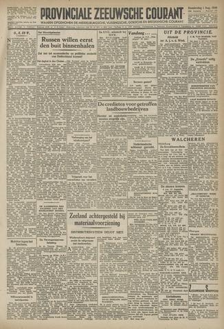 Provinciale Zeeuwse Courant 1946-08-01