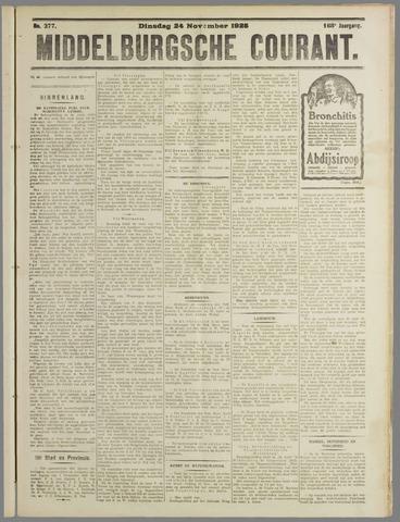 Middelburgsche Courant 1925-11-24