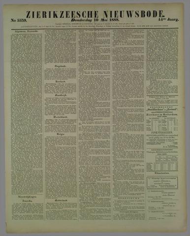 Zierikzeesche Nieuwsbode 1888-05-10