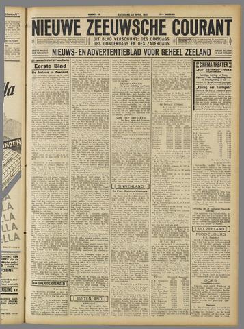 Nieuwe Zeeuwsche Courant 1931-04-25