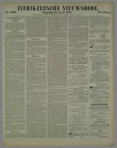 Zierikzeesche Nieuwsbode 1882-04-25
