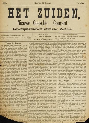 Het Zuiden, Christelijk-historisch blad 1886-01-30