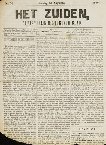 Het Zuiden, Christelijk-historisch blad 1876-08-15