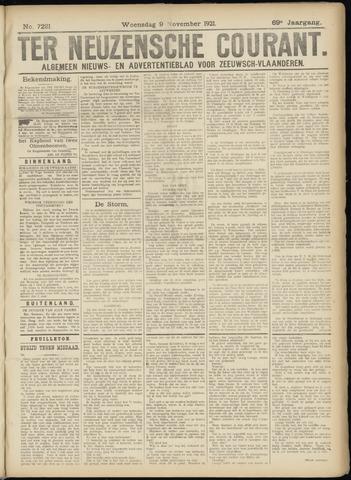 Ter Neuzensche Courant. Algemeen Nieuws- en Advertentieblad voor Zeeuwsch-Vlaanderen / Neuzensche Courant ... (idem) / (Algemeen) nieuws en advertentieblad voor Zeeuwsch-Vlaanderen 1921-11-09