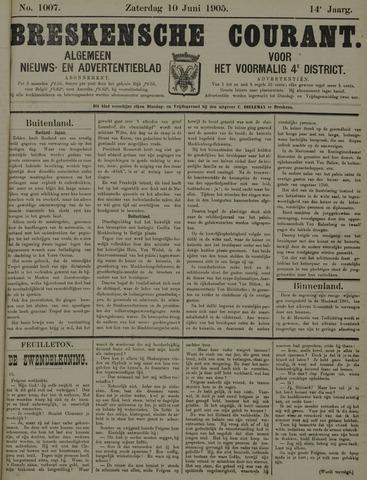 Breskensche Courant 1905-06-10