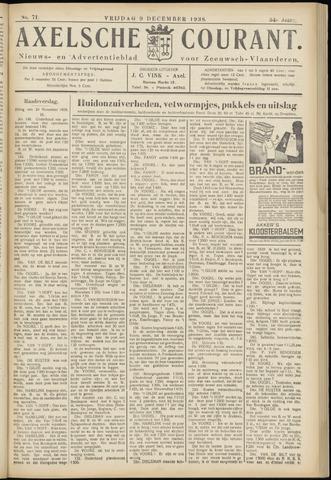 Axelsche Courant 1938-12-09