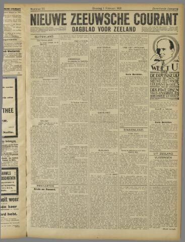 Nieuwe Zeeuwsche Courant 1921-02-01