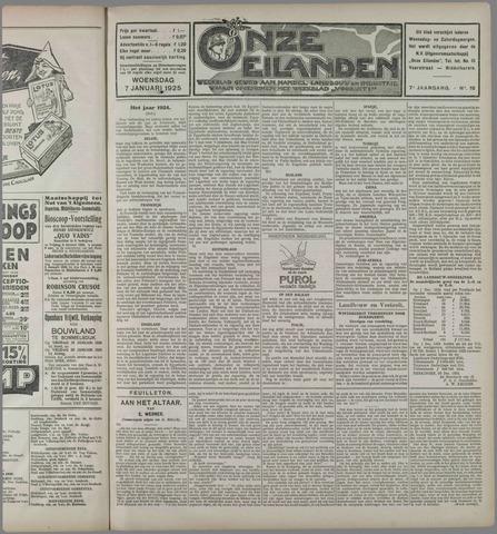 Onze Eilanden 1925