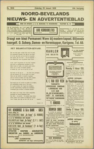 Noord-Bevelands Nieuws- en advertentieblad 1938-01-29