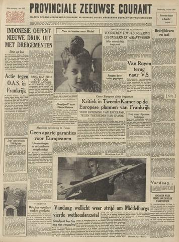 Provinciale Zeeuwse Courant 1962-06-14